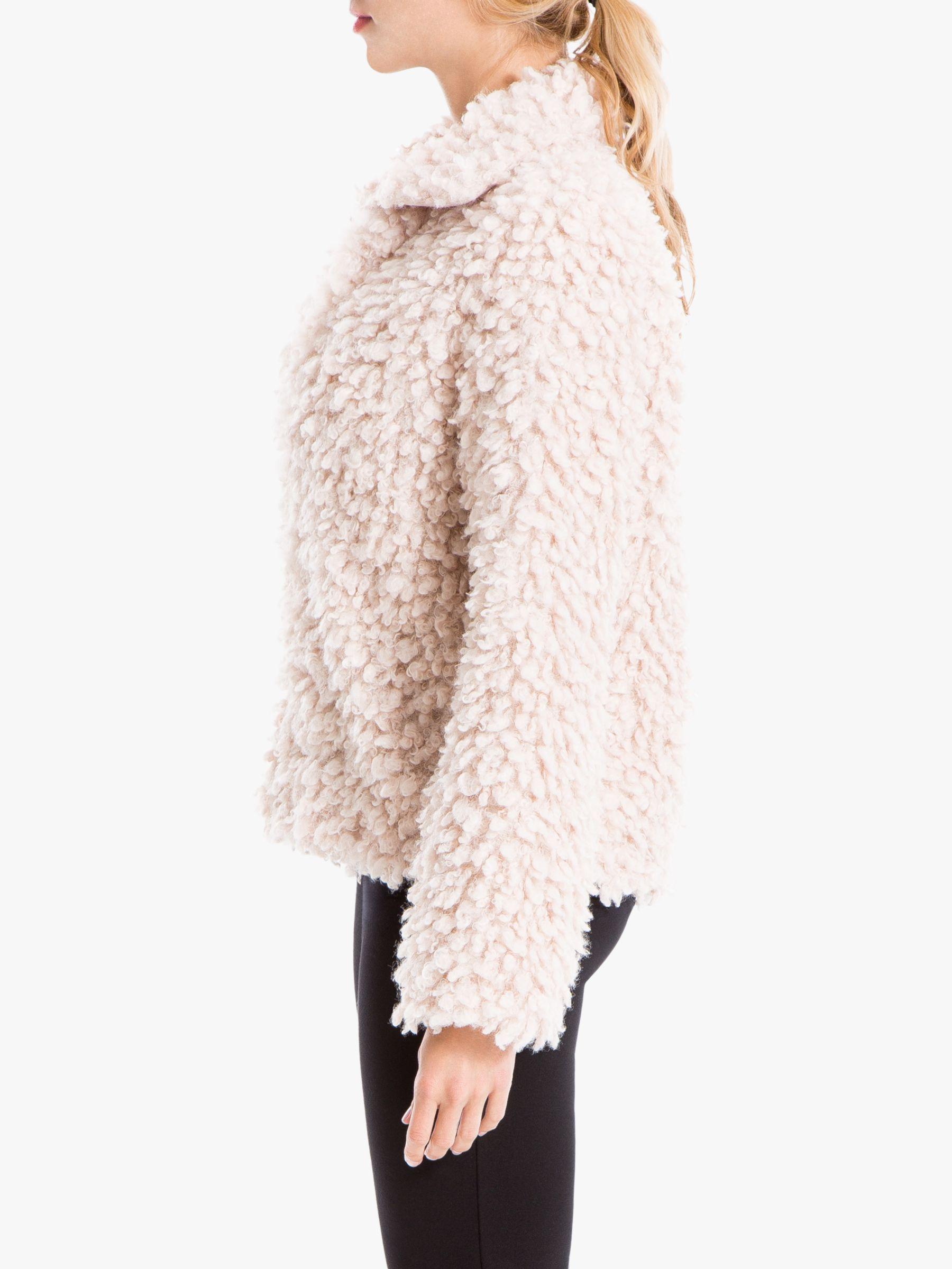 Max Studio Doodle Faux Fur Coat, Champagne in 2019 | Fur