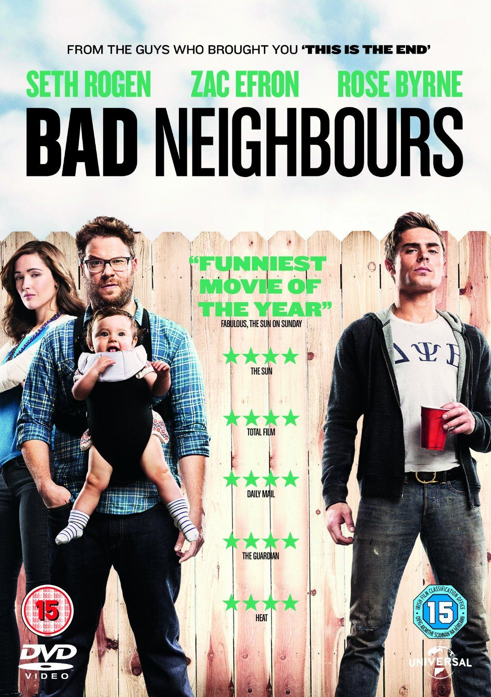 Bad Neighbours [DVD] [2014]: Amazon.co.uk: Seth Rogen, Zac Efron, Dave Franco, Rose Byrne, Lisa Kudrow, Christopher Mintz-Plasse, Nicholas Stoller: DVD & Blu-ray