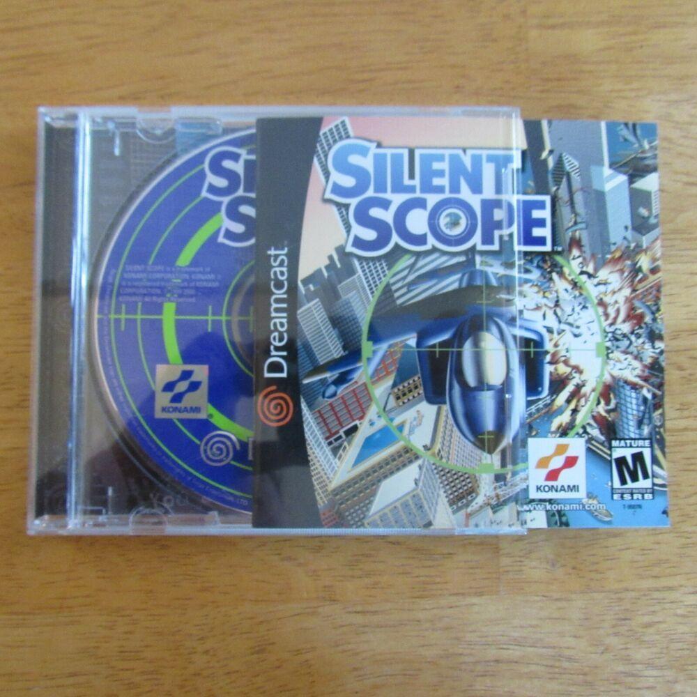 Silent Scope Sega Dreamcast 2000 CIB Complete Video Game ...