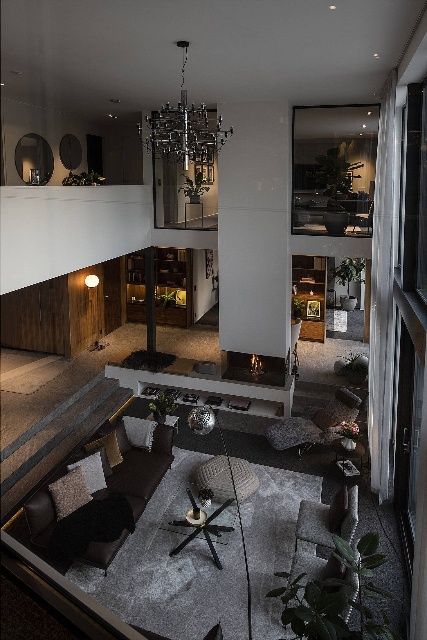 A Luxurious Open Plan Architectural Villa in Sweden — THE NORDROOM