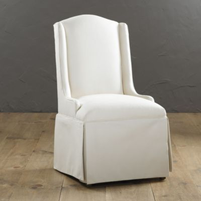 Amazing Marion Upholstered Dining Chair | Ballard Designs New Host/hostess Chairs?