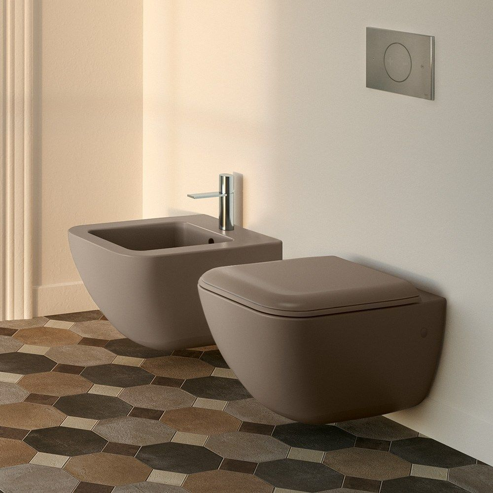 Wall-hung ceramic toilet Shui Comfort Collection by Ceramica Cielo ...