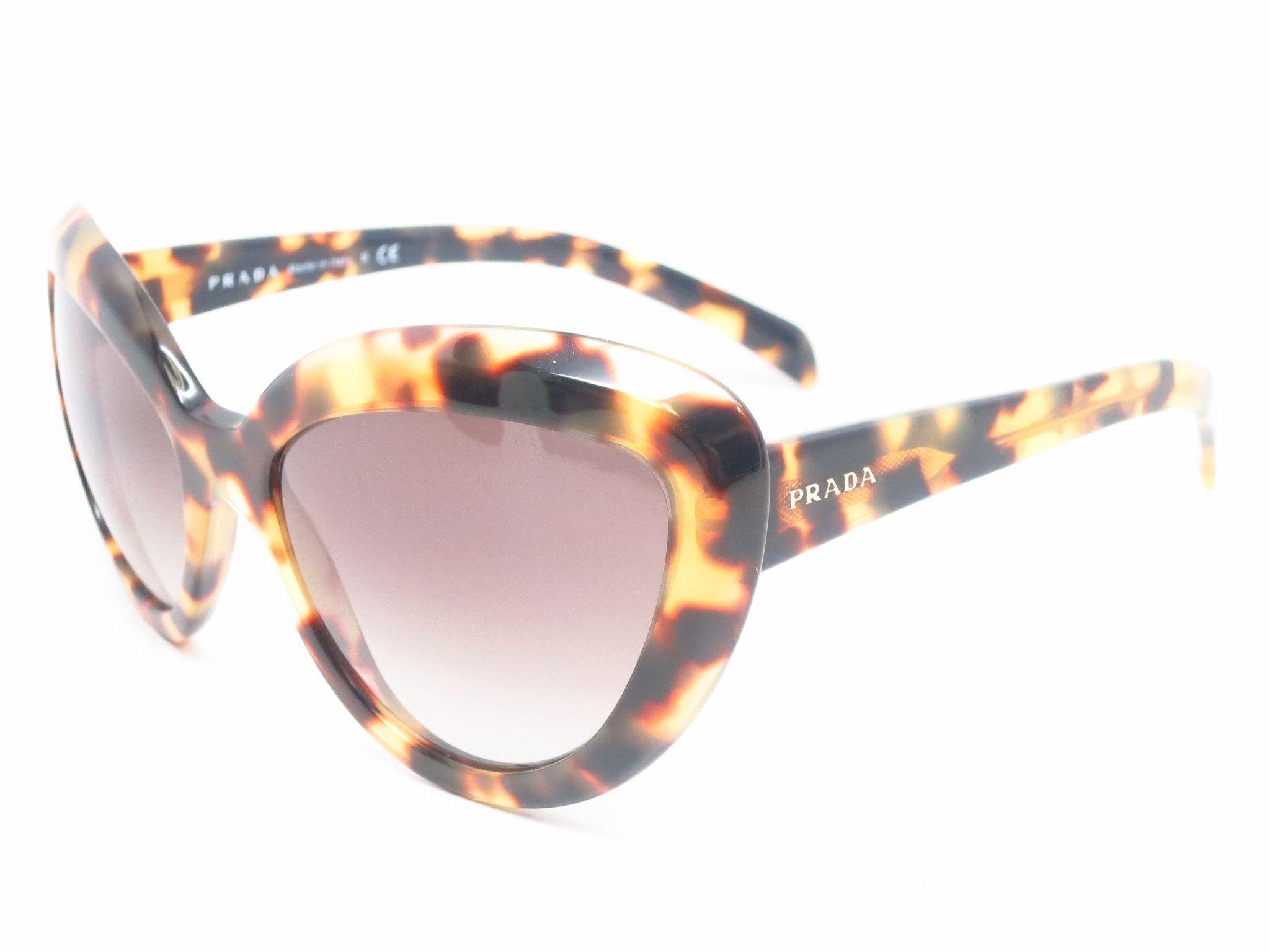 7d6e31d50e Prada SPR 08R 7S0-0A7 Medium Havana Sunglasses | eye candy