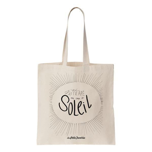"""Tote bag """"J'ai attrap"""