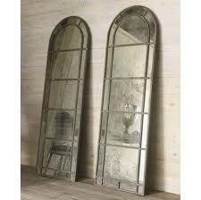 Smokey Mirror S Antique Or Can Be Made To Antique With Newspaper Black Paint And A Bit Uneven On The Back Arch Mirror Antique Mirror Traditional Mirrors