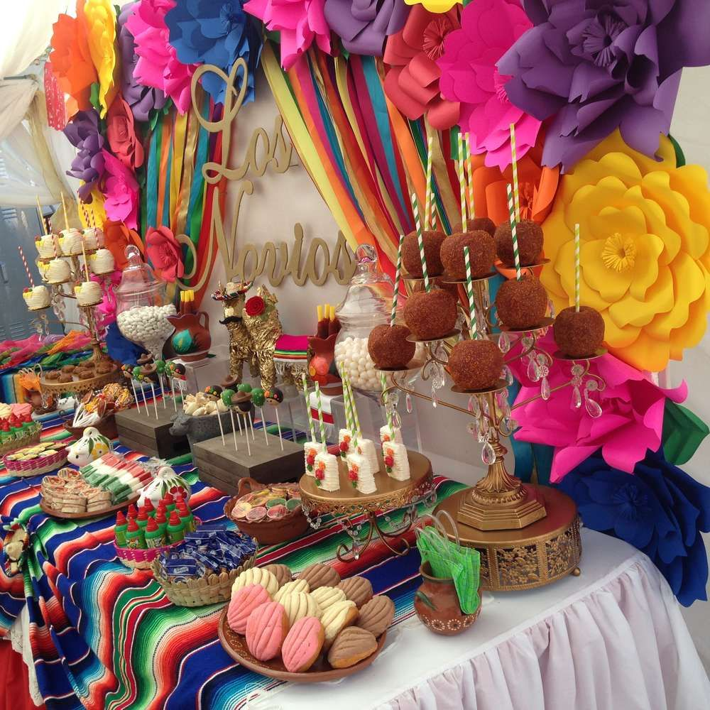 Fiesta / Mexican Bridal/Wedding Shower Party Ideas