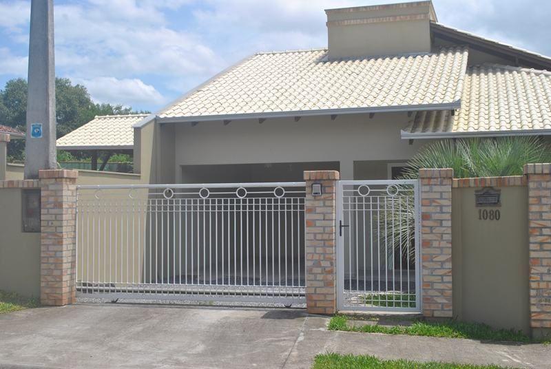 Tipos de muros com grades fachadas de casas simples - Tipos de muros ...