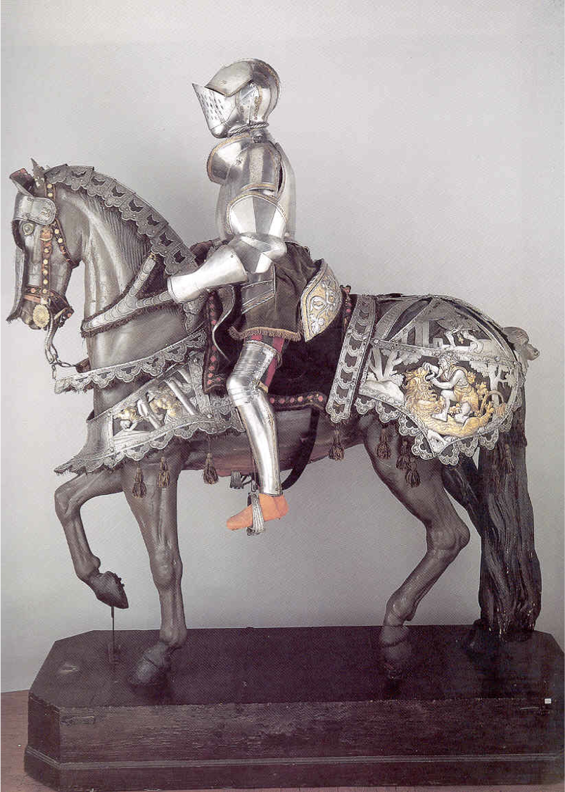 horse armor | Horse armor of Maximilian I & Horseman\'s armor of ...