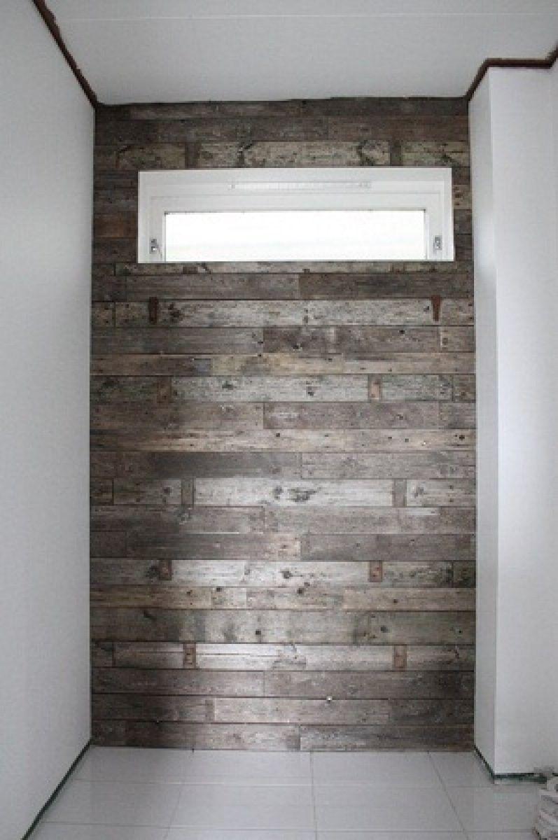 Di adios a las viejas paredes del cuarto de baño | Madera ...