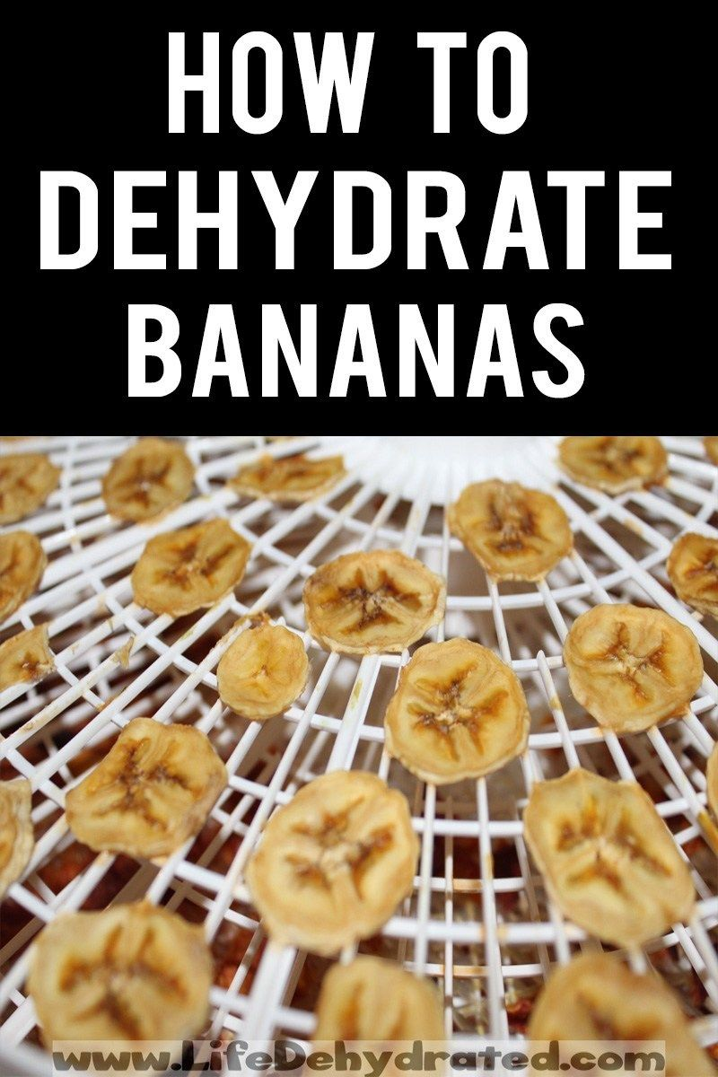 How To Dehydrate Bananas ⋆ Life Dehydrated Recipe