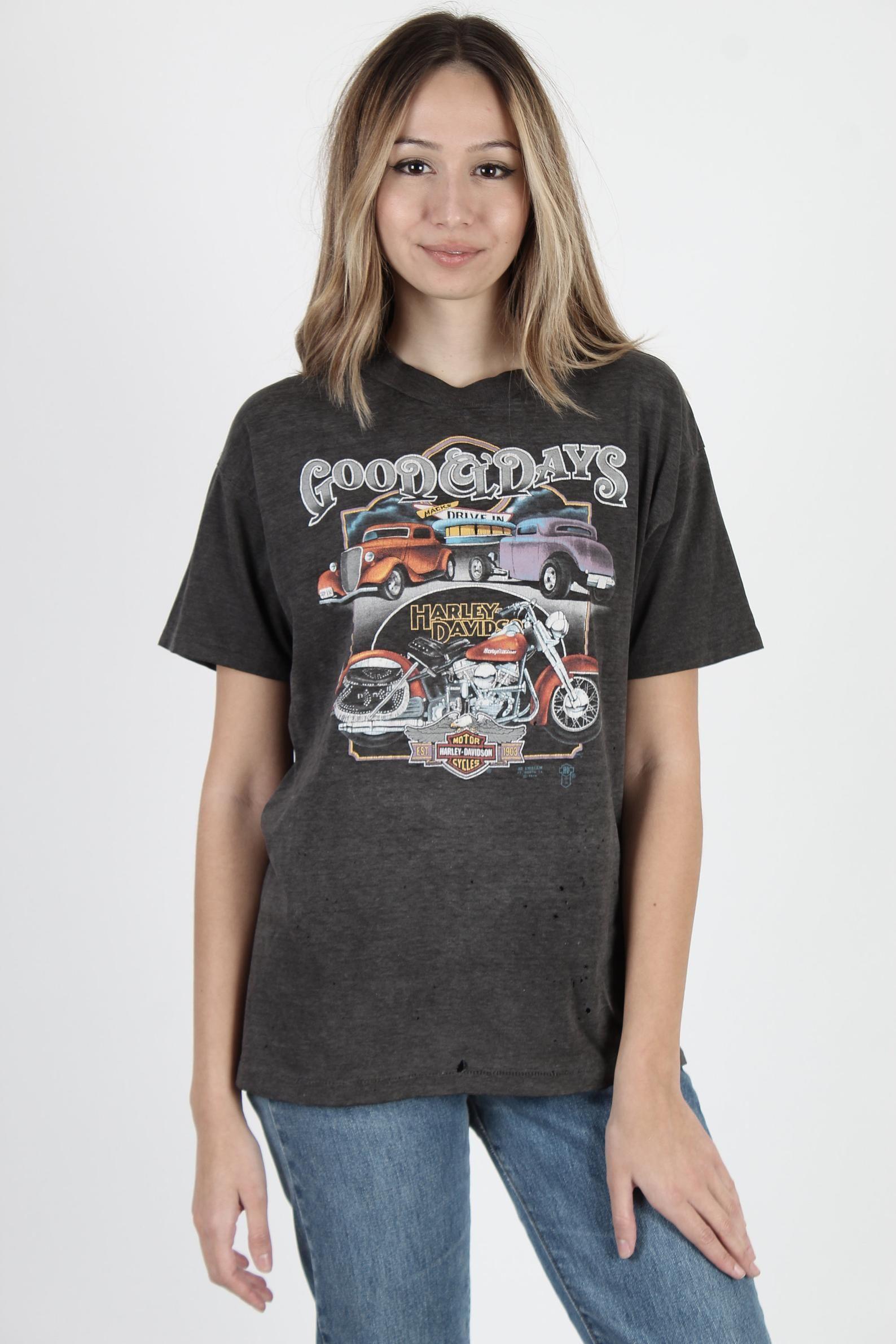 Vintage 80s 3d Emblem T Shirt Harley T Shirt Harley Davidson T Etsy Harley T Shirts Harley Davidson T Shirts Womens Maxi Dresses