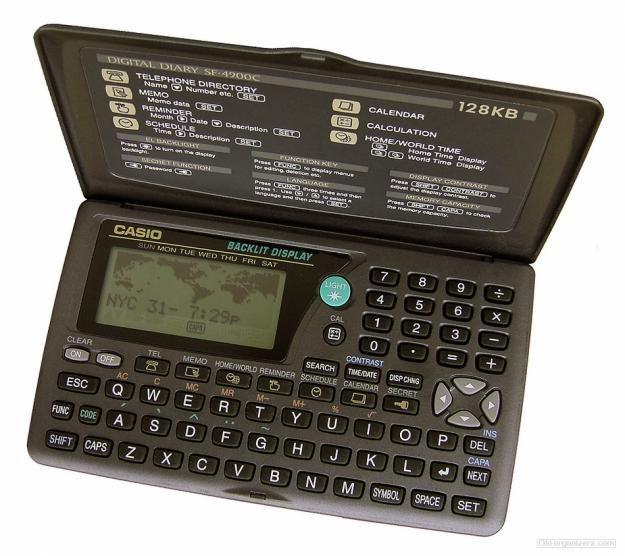 CASIO DIGITAL DIARY 4900 My Gadgets Pinterest Casio digital - time card calculator