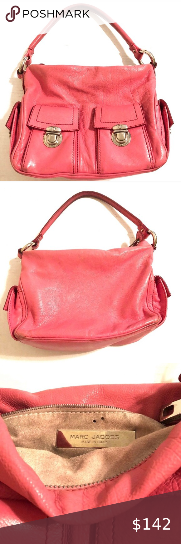 Marc Jacobs Vintage Handbag Authentic 2 Of 2 In 2020 Marc Jacobs Bag Vintage Handbags Handbag