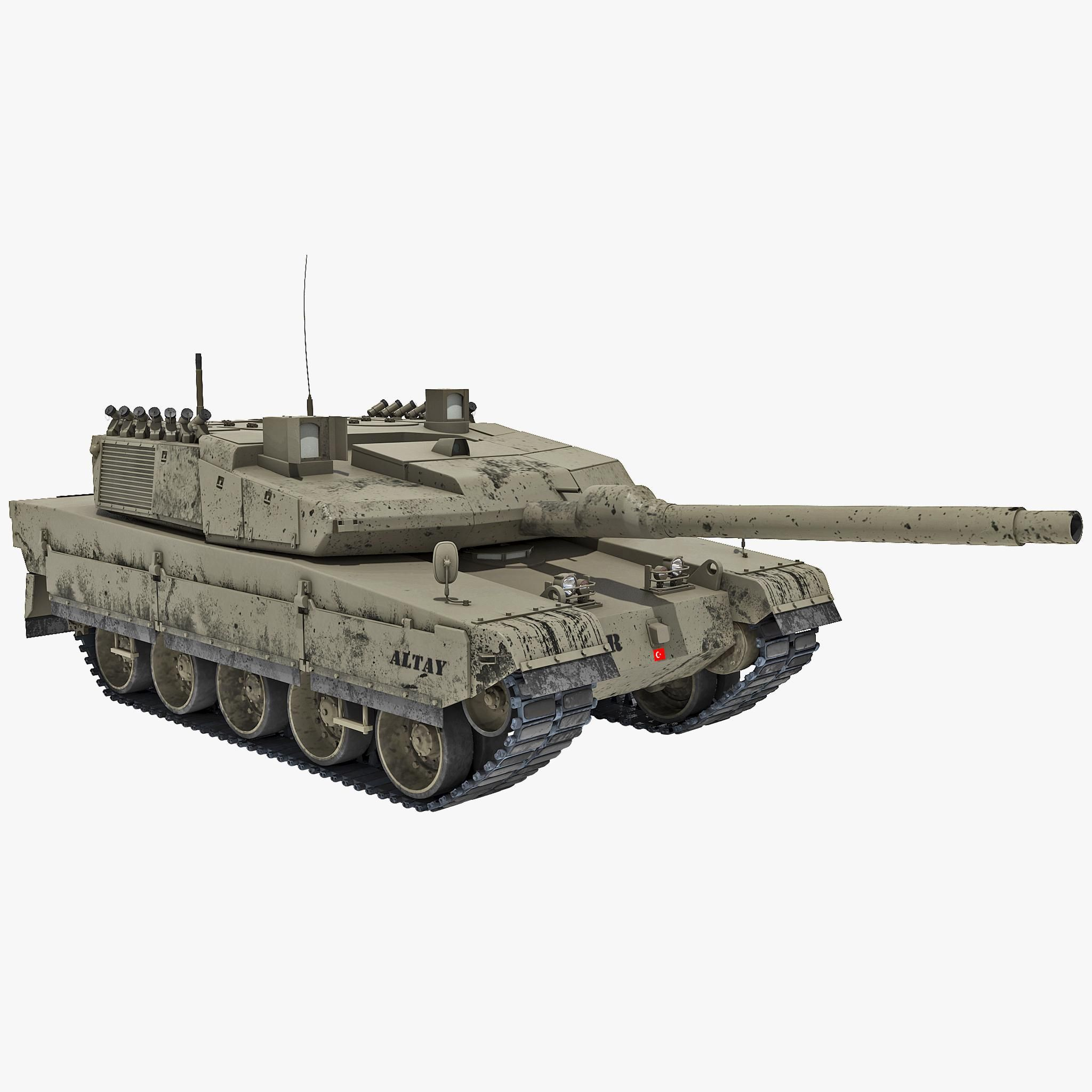 Altay Turkish Main Battle Tank 2 3d Model Ad Main Turkish Altay Model Battle Tank Tanks Military Turkish Tanks