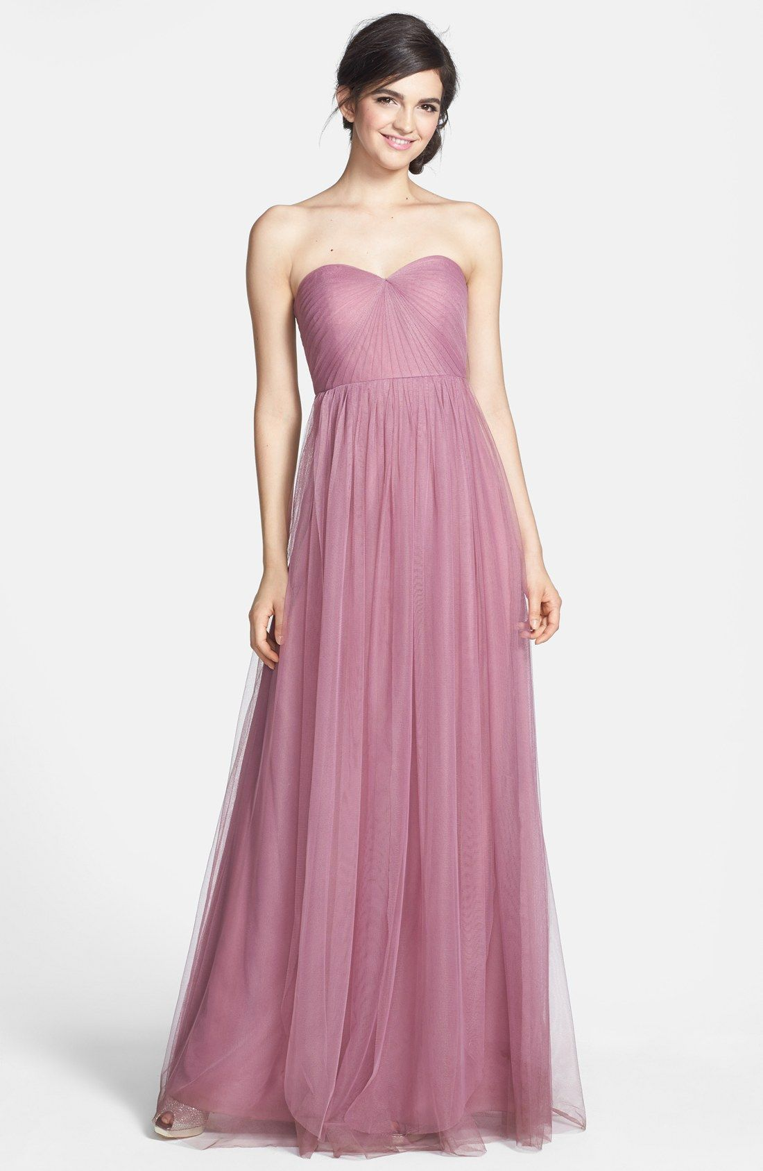 Annabelle Convertible Tulle Column Dress | Vestiditos