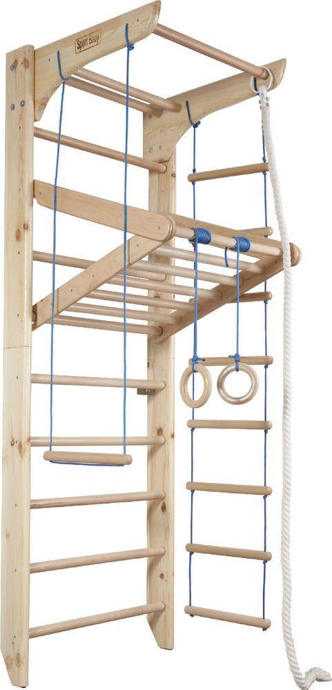 Kindersportgerät Holz Spielcenter Kletterwand Kinder Sprossewand Baby Zertifikat