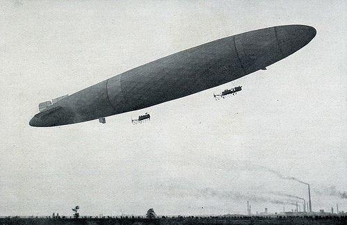 Schütte-Lanz SL.I airborne