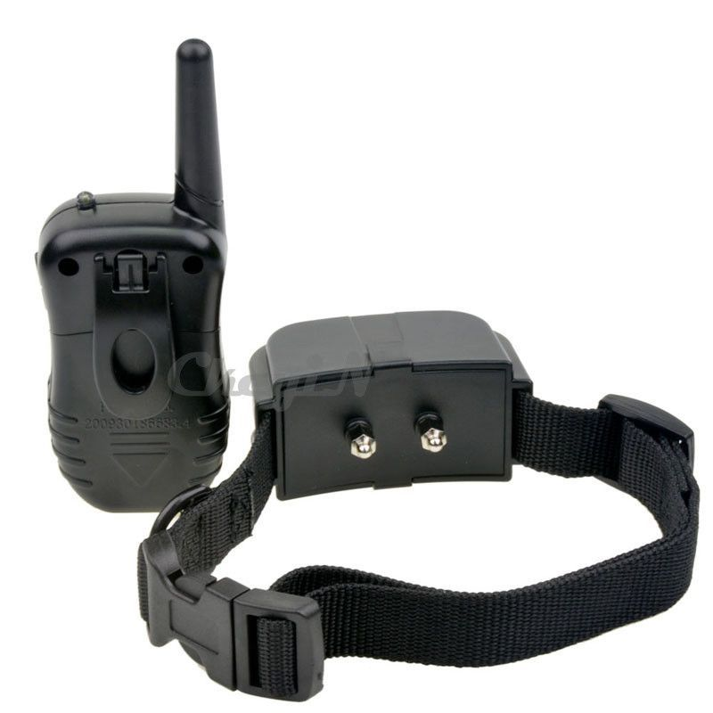 100LV Level 300meter Electronic Shock Vibra LCD Display Remote Control Pet Dog Training Collar For 1 Dog CW003H-0.4WY