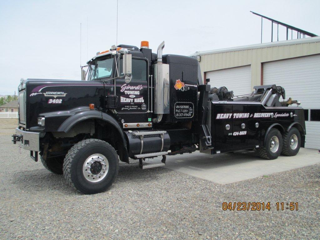 Kw Tow Truck Tow Truck Rv Truck Kenworth Trucks