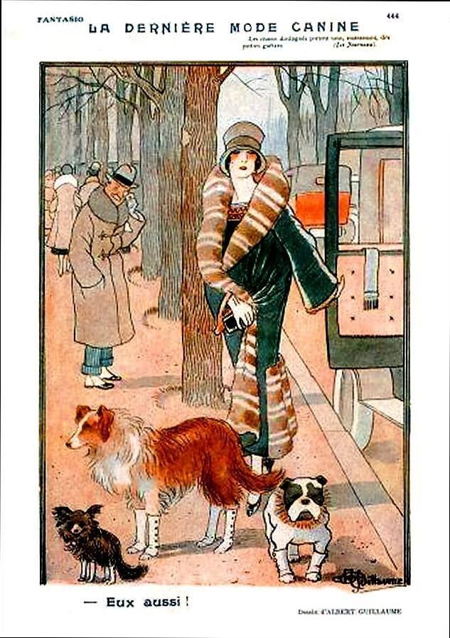 Fantasio La Derniere Mode Canine Calbert Guillaume | Reverie ...