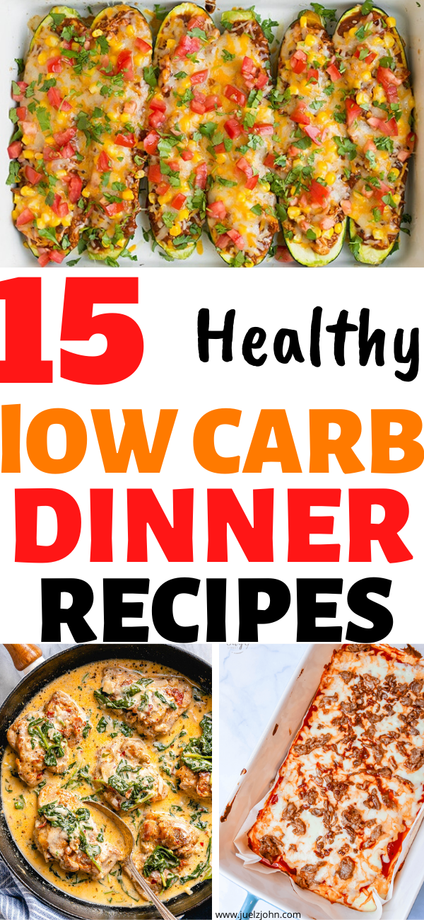 Health dinner recipes clean eating low carb