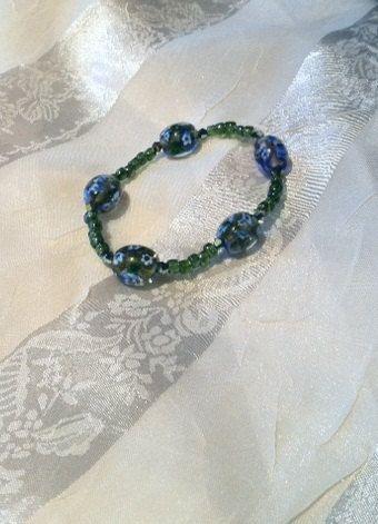Monets Green Garden Bracelet by NorthCoastCottage on Etsy, $19.00 #handmade #jewelry #etsy