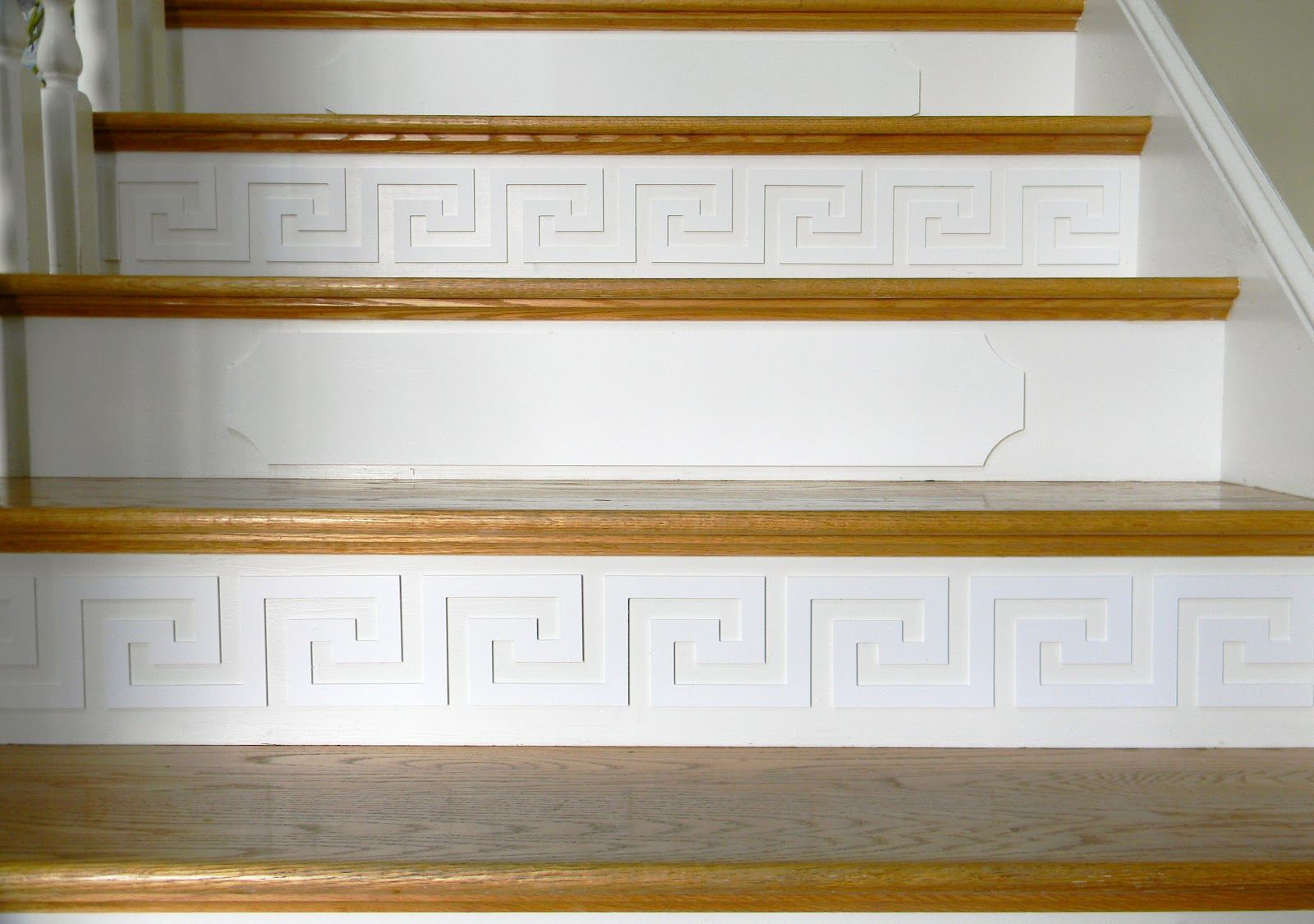 Cute Idea To Use Overlays On Stairs. I Wouldnu0027t Mix/match Like