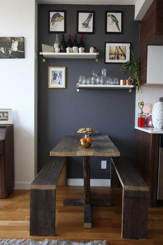 The 19 Most Incredible Small Spaces On Pinterest Small Dining