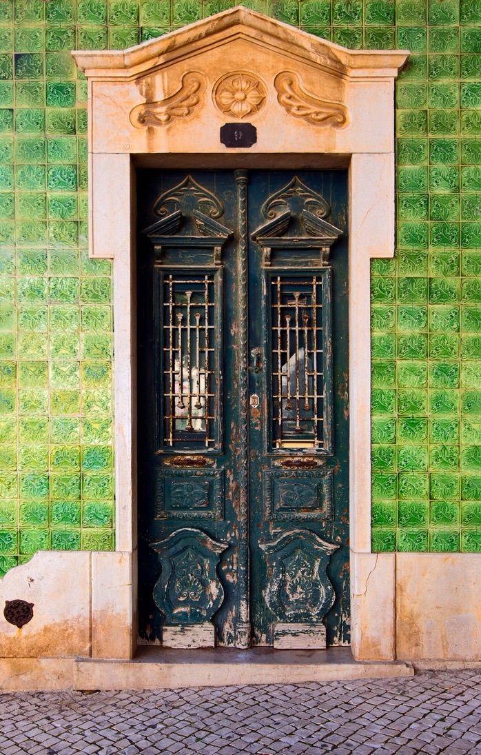 Lagos Algarve Portugal Door Janelas Porta Janela Portas Decoradas