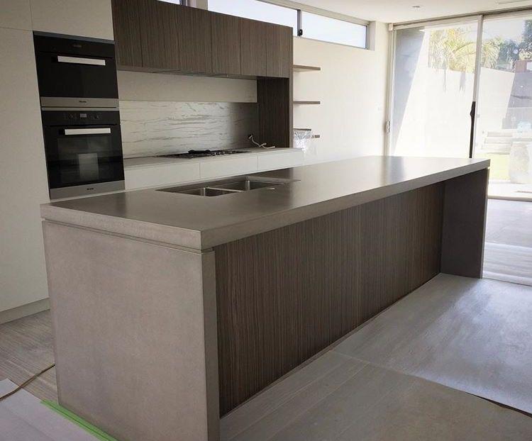 Pin On Concrete Kitchen Island Benchtops