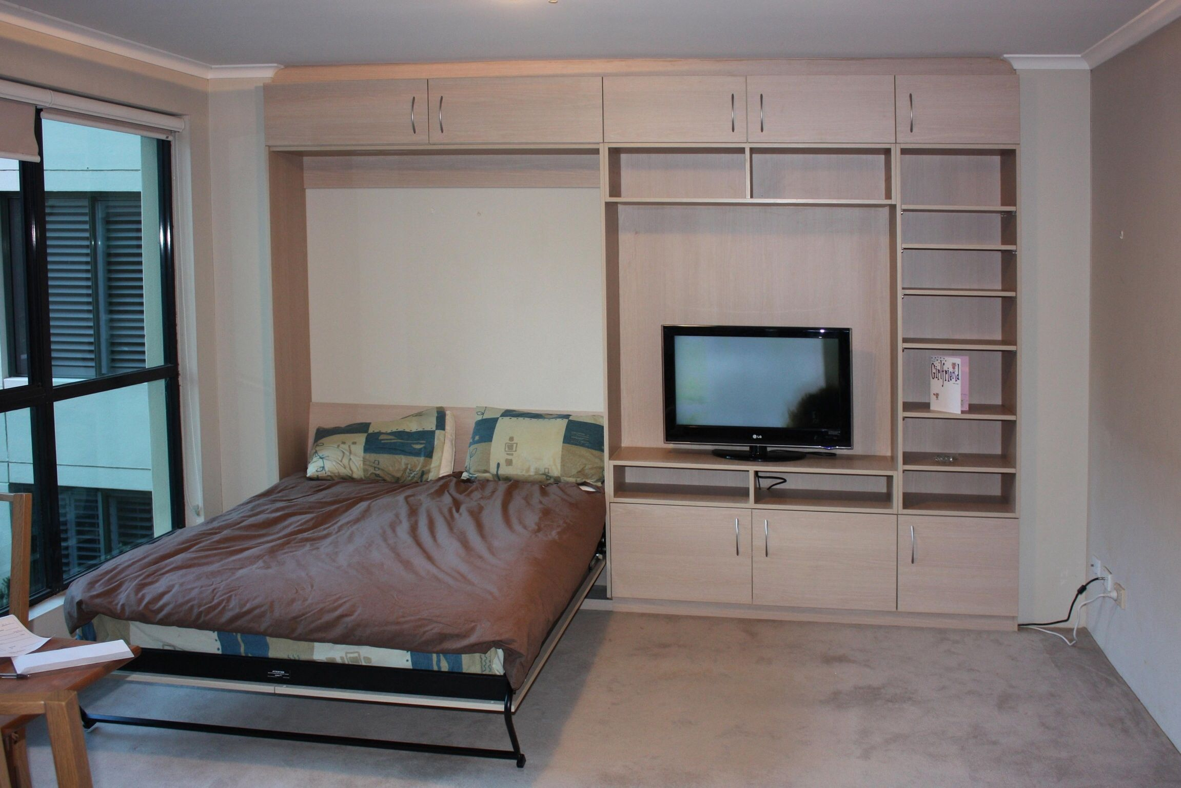 Tiltaway Beds Tiltaway Bed Overheads And Tv Unit Tilt Away Murphy Wall Beds