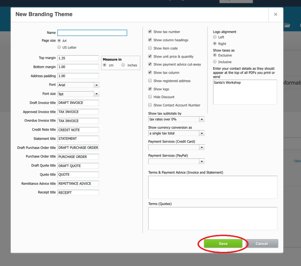 How To Customise Xero Invoice Templates Intended For Xero Custom Invoice Template 10 Professional Template Invoice Template Templates Professional Templates