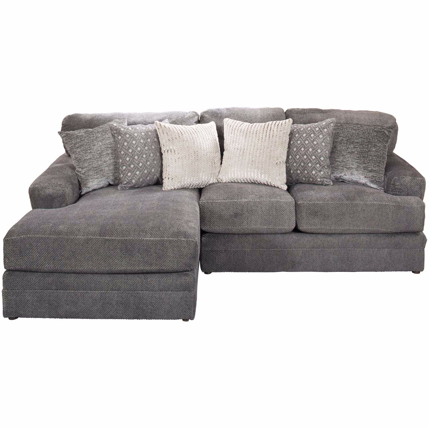 Mammoth 2 Piece Sectional With Laf Chaise Jackson Furniture