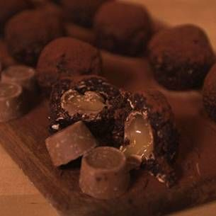 En somrig variant på klassiska chokladbollar!
