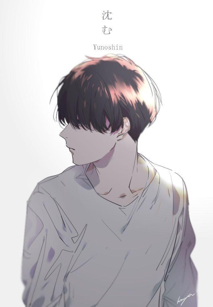 Pin Oleh Seikako Ri Di ベクター素材 Gambar Karakter Animasi Seni Manga
