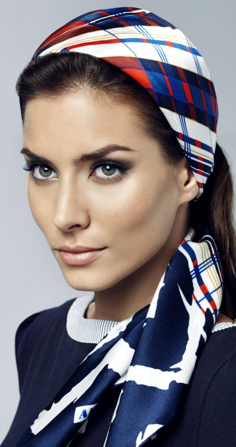 DIADEMAS Y ACCESORIOS.... Scarf hairstyles, Hair scarf