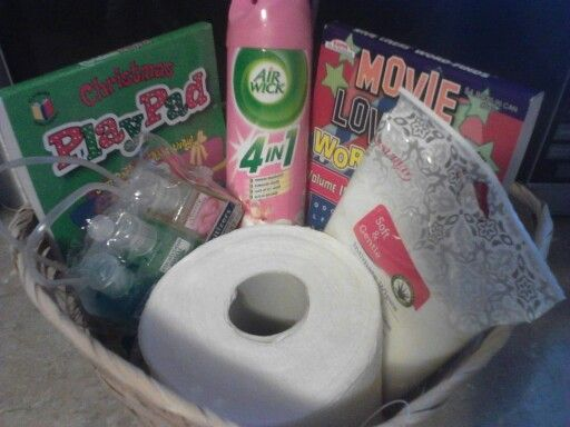 Bathroom Gift Basket White Elephant Gift Exchange Two Books Word