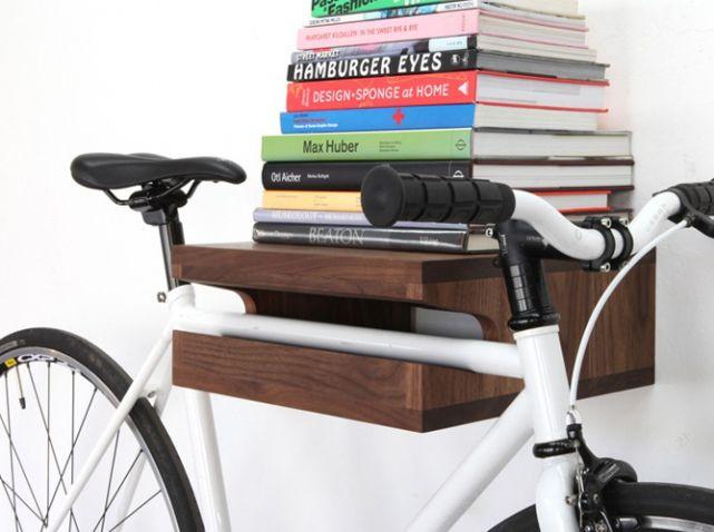 pour ou contre le v lo dans votre d co diy v lo pinterest porte velo rangement et. Black Bedroom Furniture Sets. Home Design Ideas