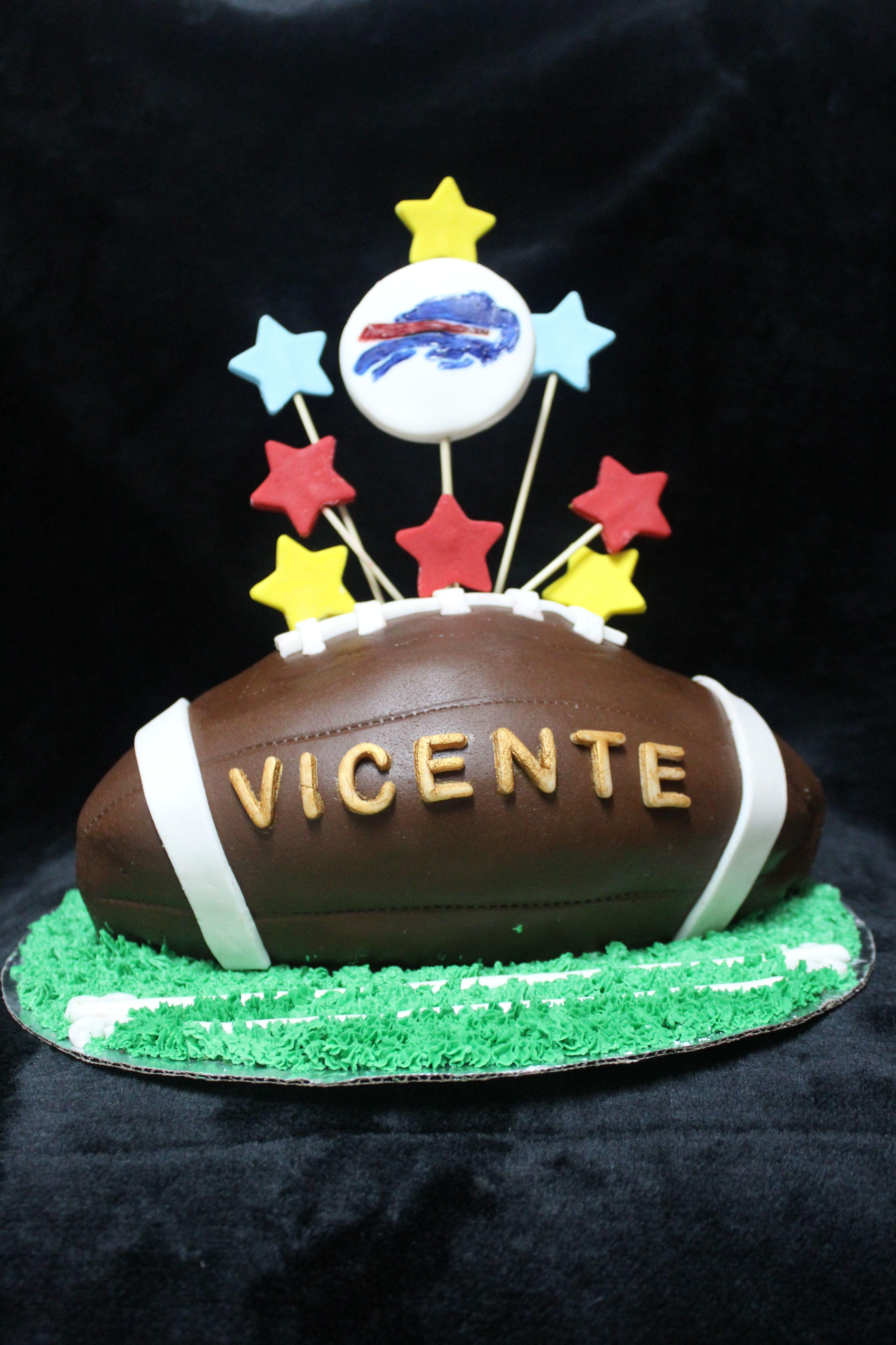 American Football Cake pastel de fútbol americano modelado ... 206cd9a914e2f