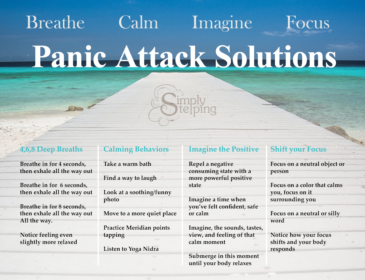 What To Do When Panic Takes Over