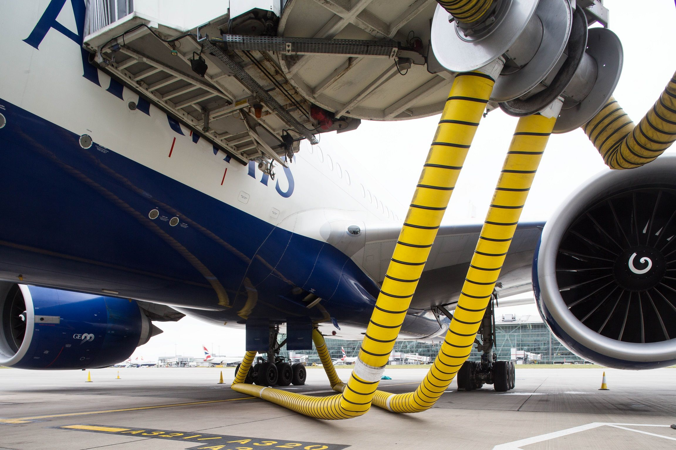 PICTURES How Heathrow is improving air quality and