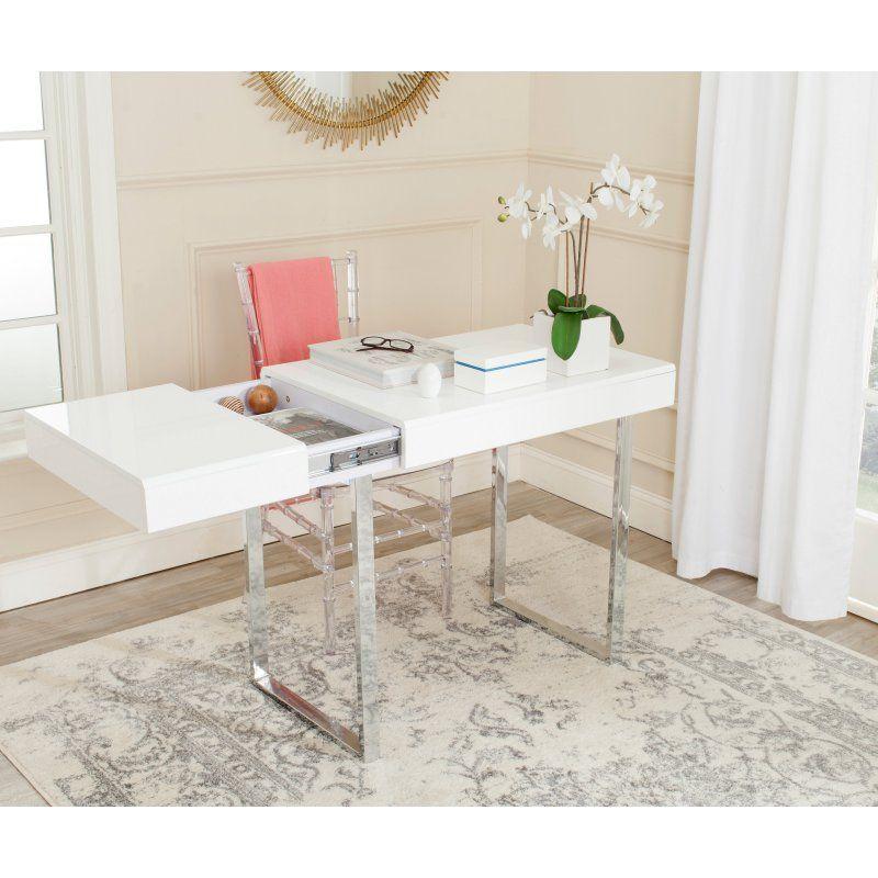 Safavieh Berkley Desk Fox2200a Home Office Furniture Modern