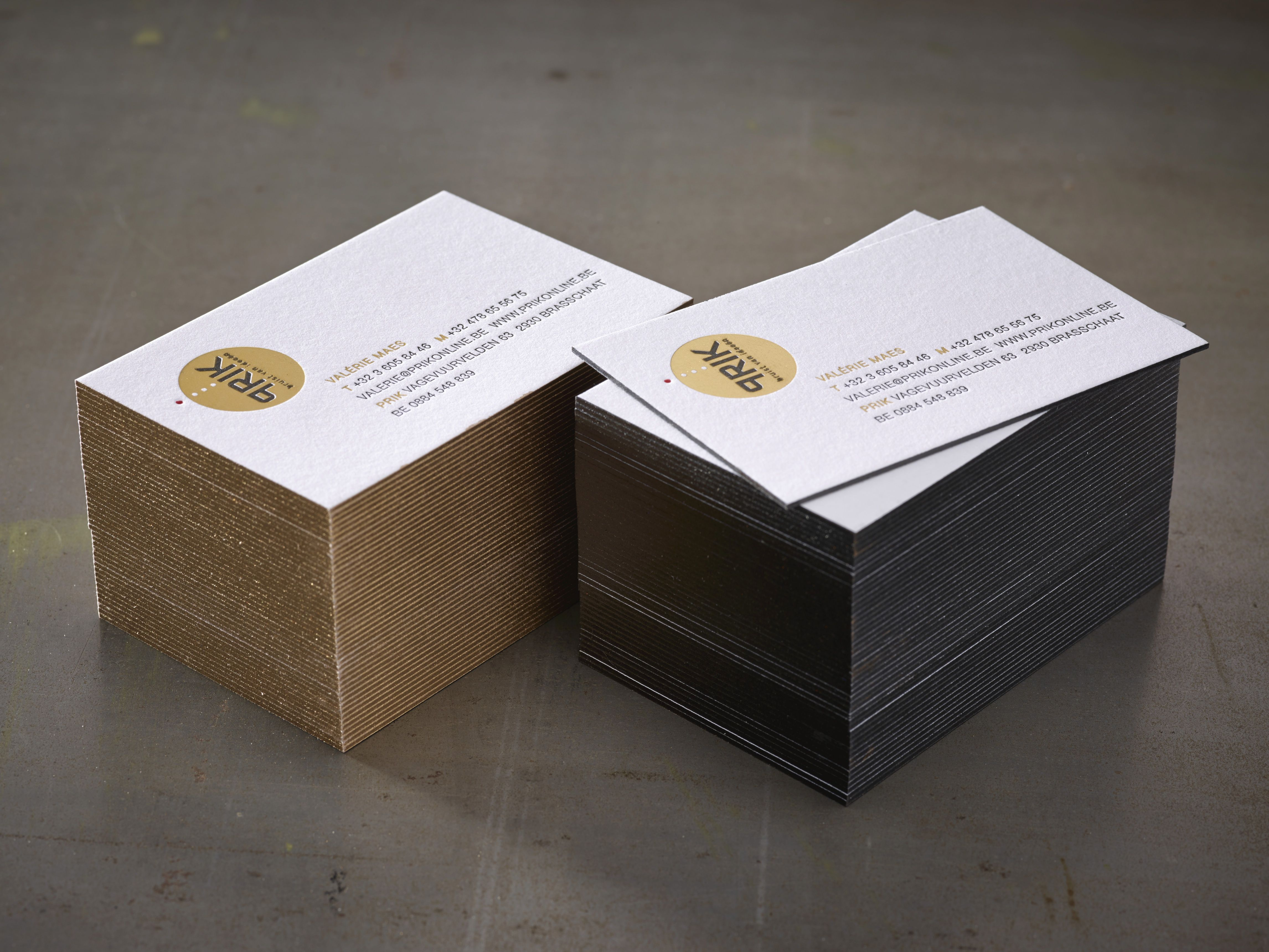 Business cards letterpress and hotfoil gold edge coloring gold or business cards letterpress and hotfoil gold edge coloring gold or black printed by www reheart Image collections