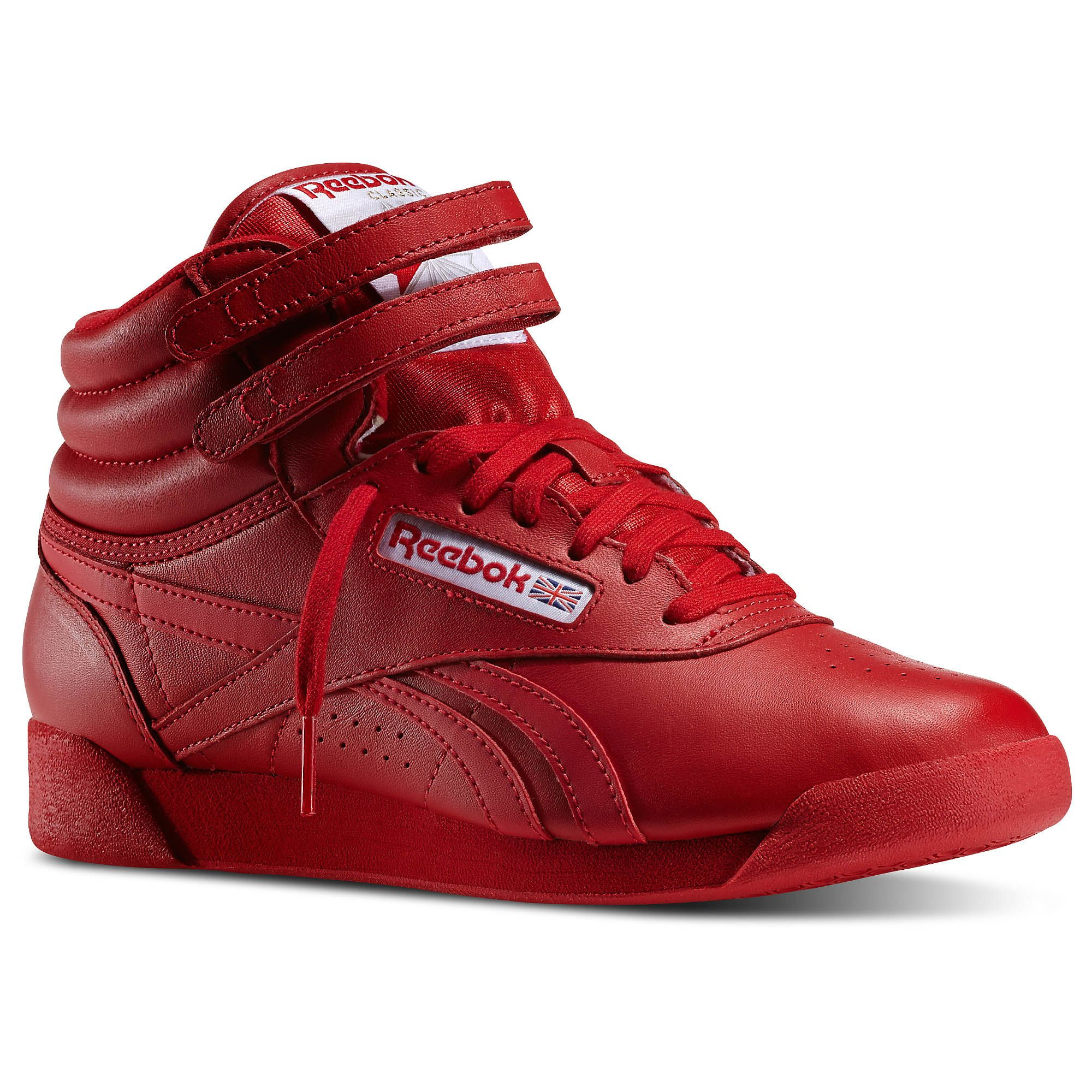 Shop for Freestyle Hi Spirit - Red at reebok.com. See all the styles and  colors of Freestyle Hi Spirit - Red at the official Reebok US online store. c10de34d4