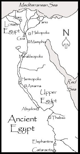 Gallery for map of ancient egypt for kids history ancient gallery for map of ancient egypt for kids gumiabroncs Image collections