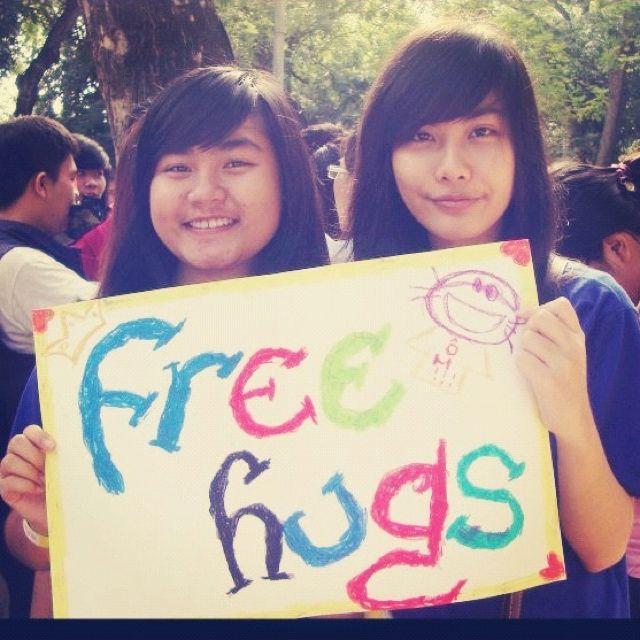 Free hugs day x want a hug?