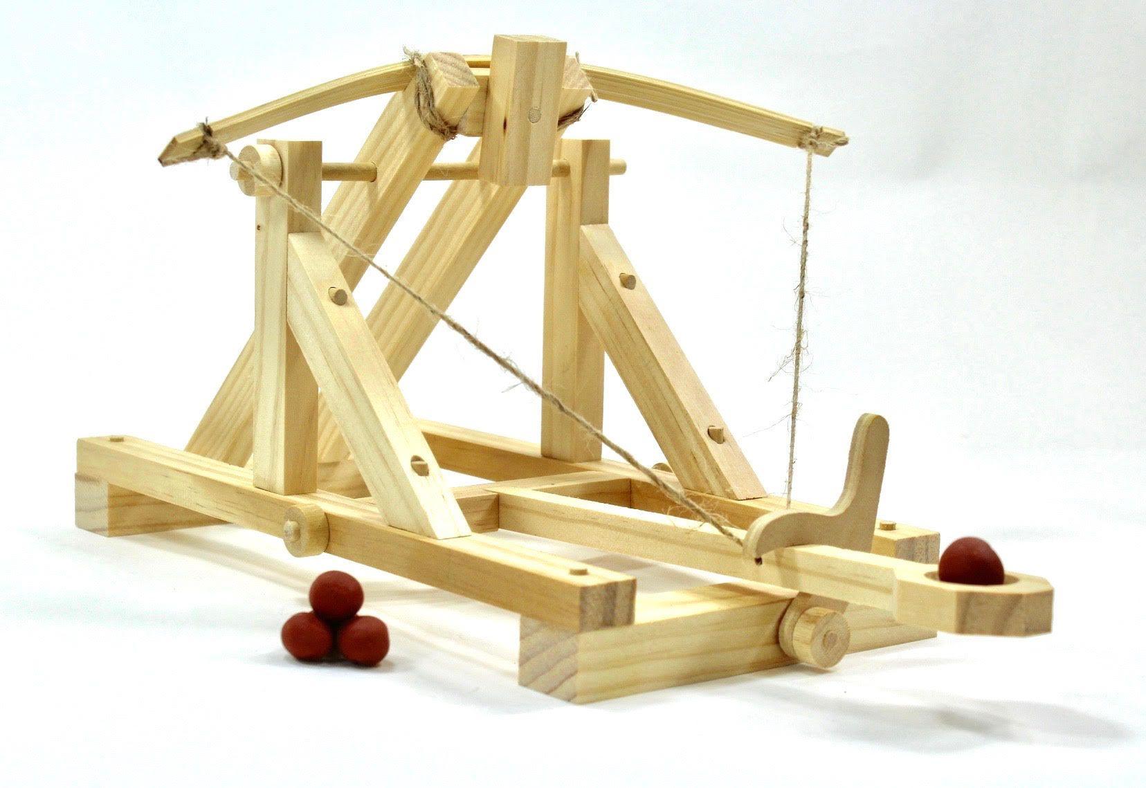 Katapult Wood Trick Catapult