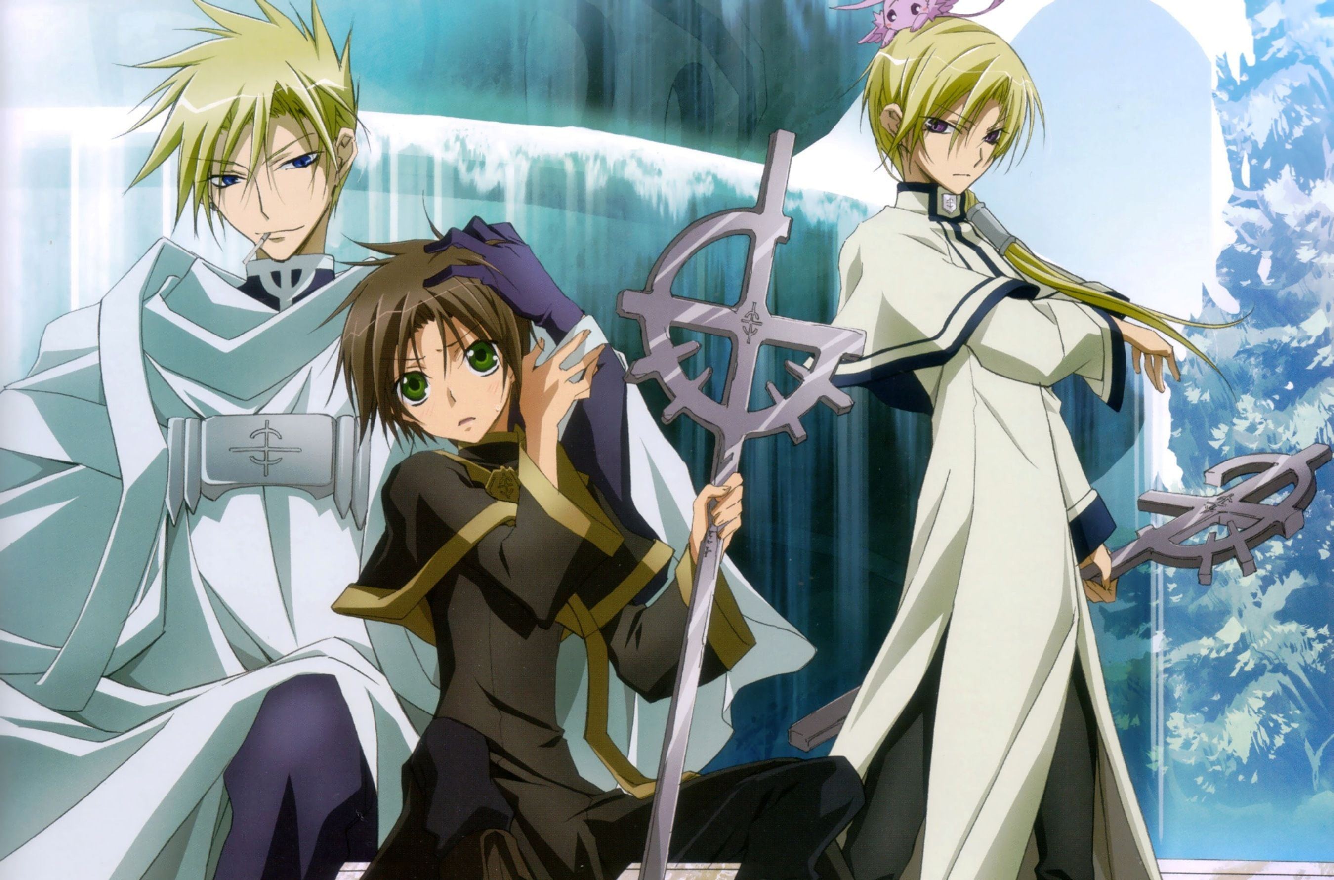 Frau And Teito Hakuren 07 Ghost 07 Ghost Ghost Images Ghost