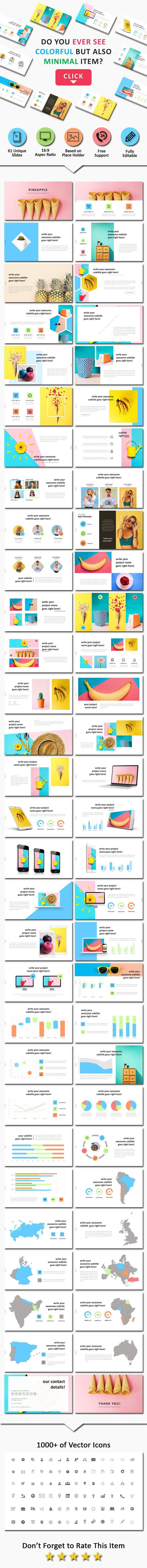 Business infographic : Pineapel Creative Powerpoint Business ...