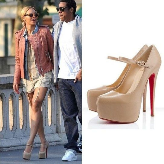 christian louboutin lady daf mary jane pumps
